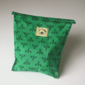 Beeswax snack bag